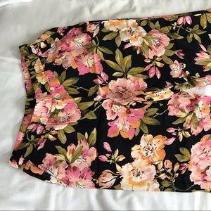 LOFT Pants & Jumpsuits - LOFT Wide Leg Trousers in Floral Print 💫 Small